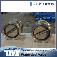 ss stainless steel dual plate disc flap check valve