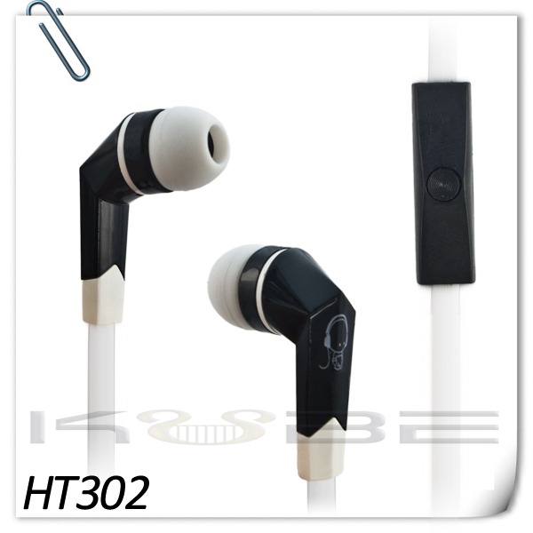 OEM Wholesale cheap handsfree color earphones for ipod