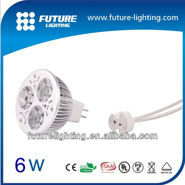 Indoor lighting MR16 Gu10 3x2W Dimmable led spotlight , led spot light
