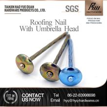 online shop china roofing nails with smooth clavos para calamina