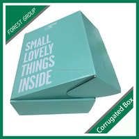 Corrugated small product packaging box factory