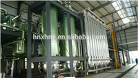 Useing cooking oil Distillation Machine /edible oil recycling machine soybean oil refinery plant