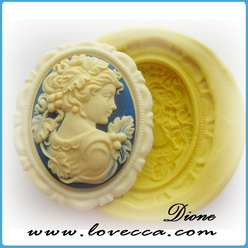 Wholesale guangzhou small MOQ fashion resin cameo , resin cameo for ladies , resin cameo jewelry