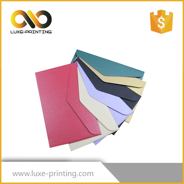 Wholesale custom different colors handmade art paper envelope