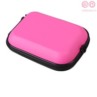 pink shockproof organizer tool travel storage hard EVA cosmetic case