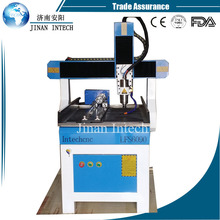 Small jade carving products cnc router 6090 3d cnc stone sculpture machine