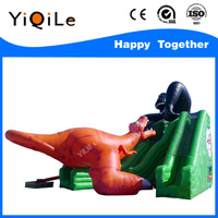 Dinosaur appearance kids inflatable playground on sale kids inflatable slide