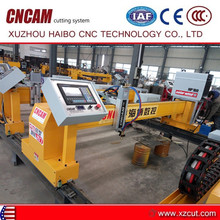 high cutting quality 3*7M ground type cnc cutting machine with air plasma cutter LGK100