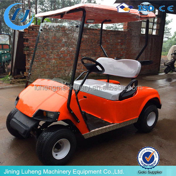 battery operated electric golf car/golf cart/utility vehicle 4 seater