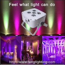 Professional battery powered wireless dmx led decorate remote uplight