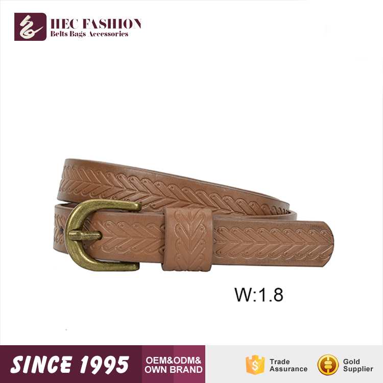 HEC China Famous Brand Fashion Designer Leather Blet From Wenzhou Manufacturer