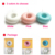 Round Pink & White Color Skin Care Lovely Looking Ultrasonic Doughnut Aroma Diffuser