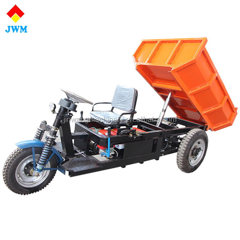 cheap 3 wheeltransport vehicle with good quality utility dump electric tricycle