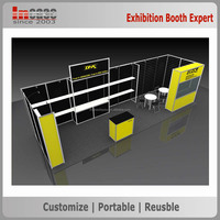 Newest modern exhibition trade show booth stand design