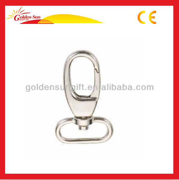 High Strength Personalized Metal Snap Hook With Key Ring