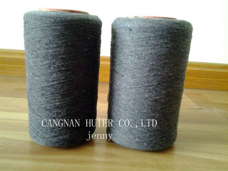 OE Cotton Polyester Blended Wasted Yarn for knitting Gloves