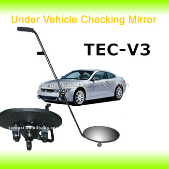 Under vehicle trolley mirror ,under vehicle mirror TEC-V3