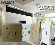 10A 220V 1 gang French type wall socket European standard /easy installation&low energy consumption