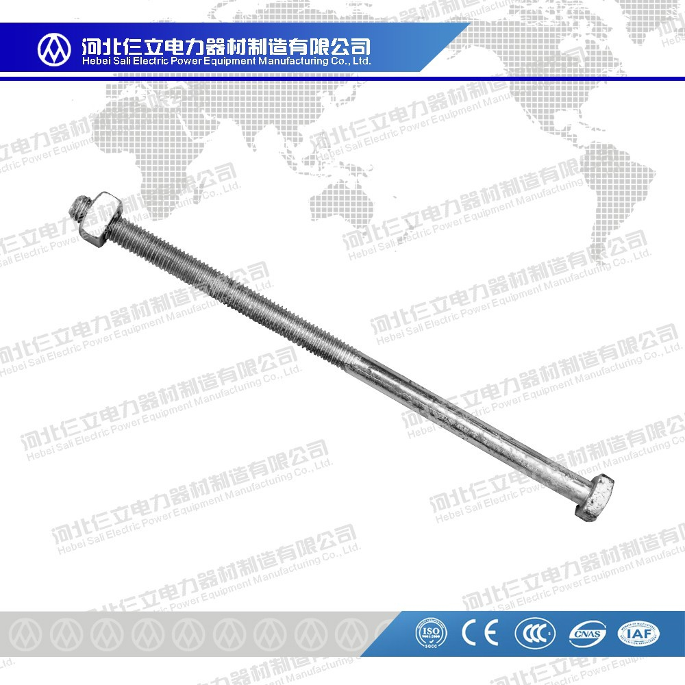 Smooth Hexagon Head Screw/Machine Bolts/Hex Bolt