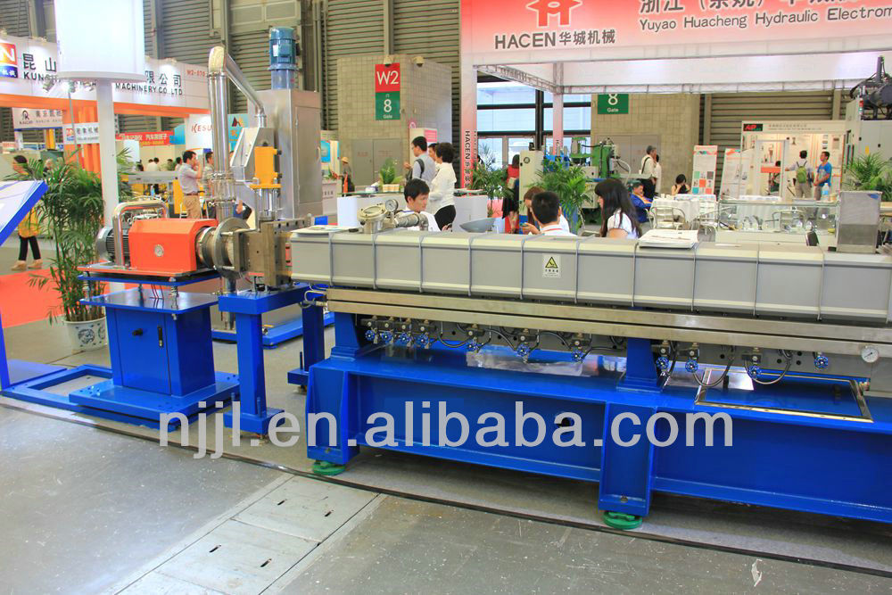 SHJ-65 co-rotating twin screw extruder machine