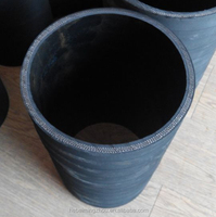 6 Inch Corrugated Drainage Rubber Water Pipe