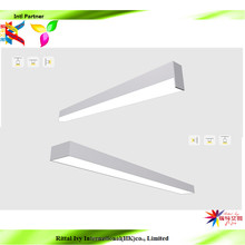 5Years Warranty 15w 30w 45w Modern Office Aluminum Led Linear Pendant Light