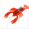 plastic solar powered driving lobster toy