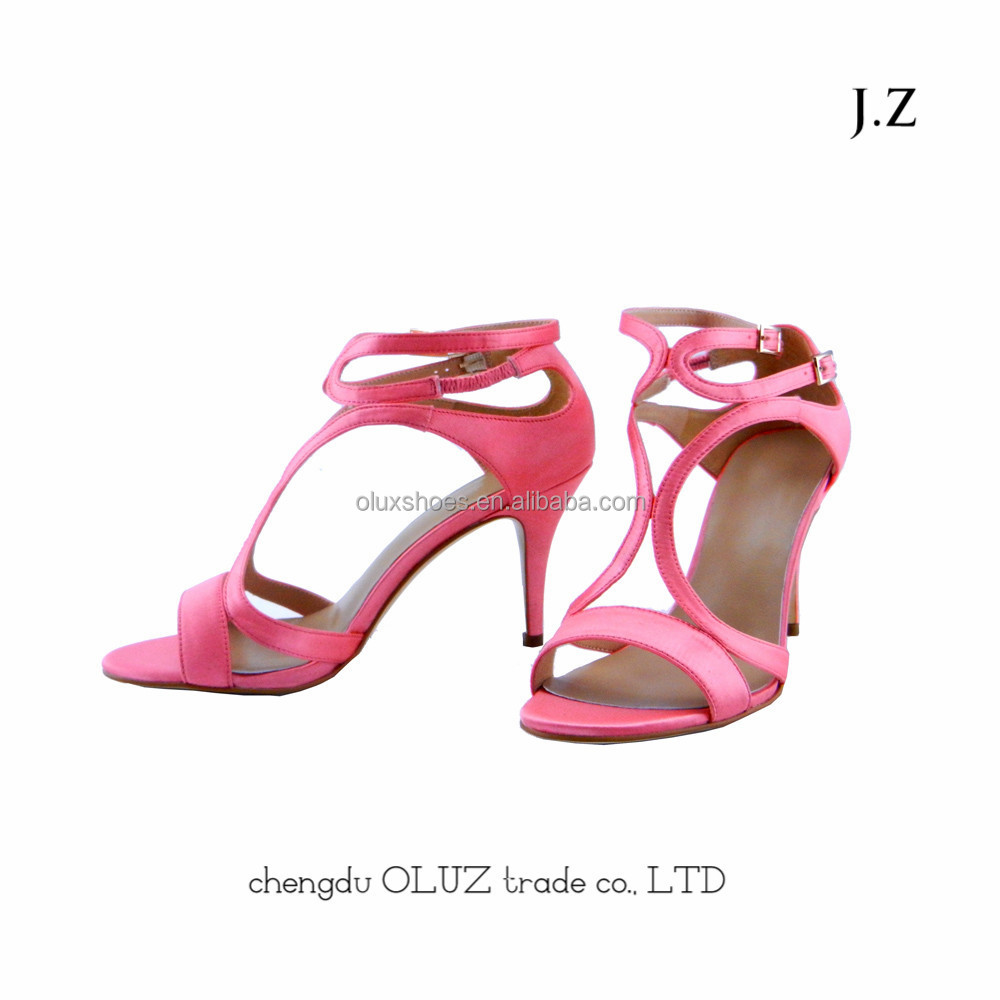OS05 china market new design high heels style shoes in sandals