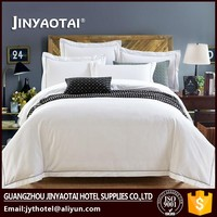 Full Bed Guangzhou Satin 5 Star Hotel Bedding Set 5 Star Hotel Bed Linen