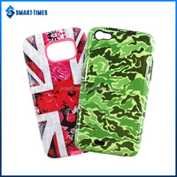 [Smart Times] Flag Printed PC Back Cover Mobile Phone Accessory For Samsung For Galaxy S6 Case