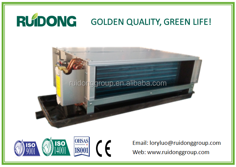 Ruidong brand fan coil ,low noise and high effiency