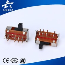 Yueqing High quality low price 3 position 4 position slide Switch