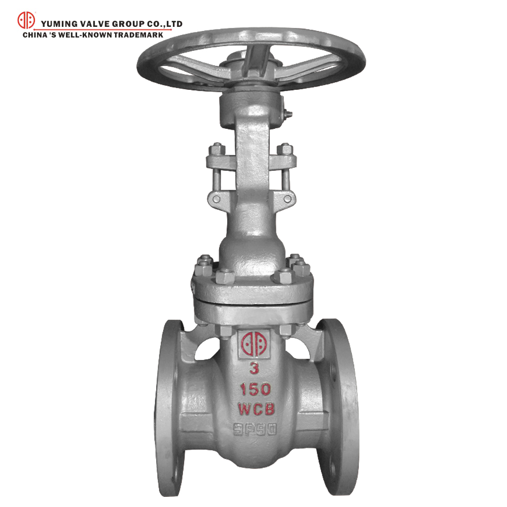 Hot sale WCB rising stem flange gate valve Hand wheel