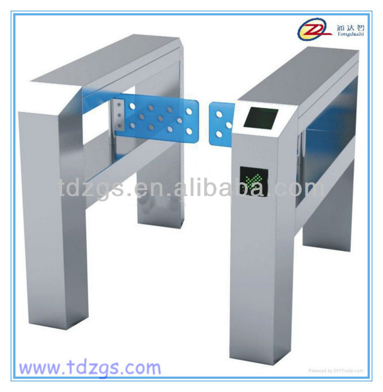 Automatic turnstile,electrical swing barrier gate with IC, ID card reader