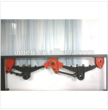 Multi leaf spring rear axle independent rear suspension