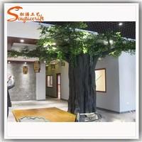 Allibaba com resin tree stump columns trees fiberglass artificial oak tree branches for restaurant decoration