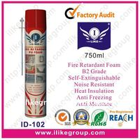Fire Proof Spray PU Foam Sealants