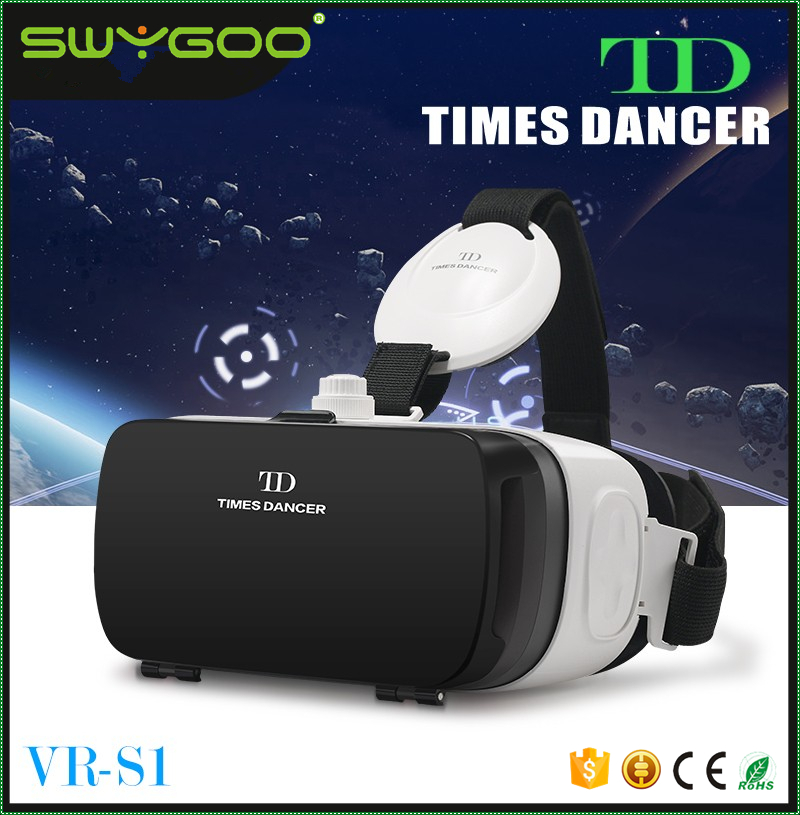 Best Brand TD TIMES DANCER S1 Magic Box 3d Glasses Vr Google Cardboard For 3D Games and Movies