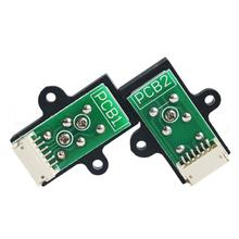 Male to female electrical adapter automotive 6 pin magnetic pcb connector