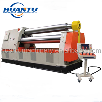 <strong>W11S</strong> hydraulic plate rolling machine , pinch <strong>roller</strong> , metal rolling machine