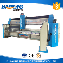 Baineng Automatical CNC Glass Edging Machine with drilling milling notching grinding polishing functions