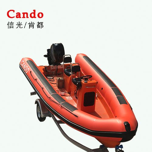 Fashionable Style Inflatable 580Rib Boat For Fishing Boat Price