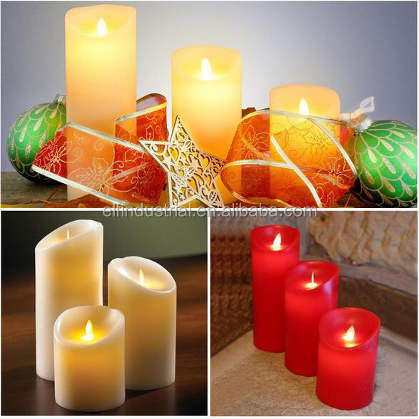 Hot Selling Safety Flameless Rechargeable Electric LED Candle Supplier