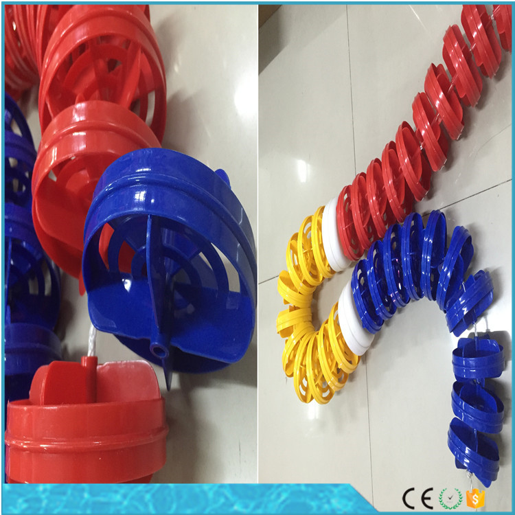 Anti wave swimming pool float lane rope Wholesale swimming pool float line swim lanes ropes