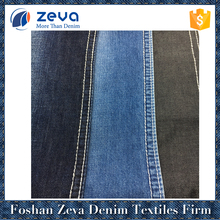 Denim twill fabric light 100% cotton woven denim fabric for lady's shirt