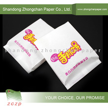 Fast food/pie packaging bag Greaseproof, Waterproof PE coated paper/poly paper sheets flexo printing