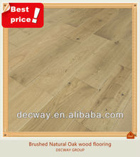 Cheap Chinese Solid White Oak wooden floor