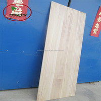 paulownia wood finger jointed laminated timber board