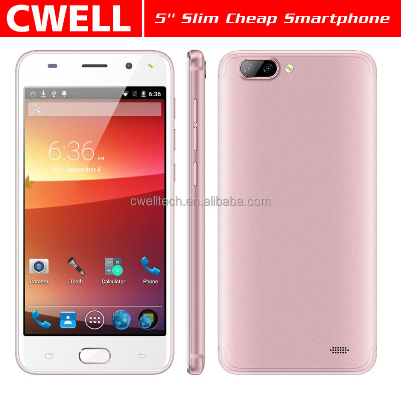 5.0 Inch Touch Screen MTK6572 Dual Core WIFI GPS Ultra Slim Body telefone celular Alps P520