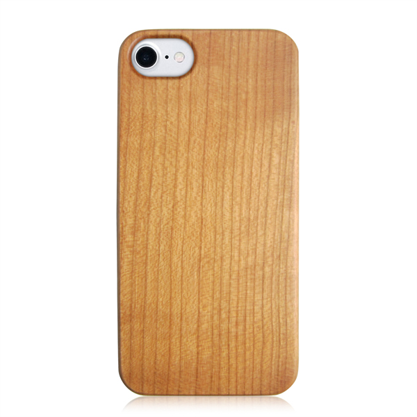 Blank wood case real wood phone case PC bottom protective back cover for iPhone 6 7